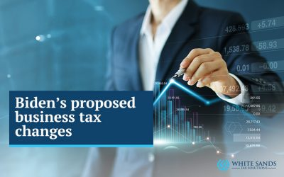 Biden's proposed Business Tax Changes