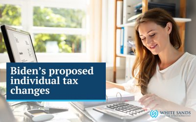 Biden's proposed Individual Tax Changes